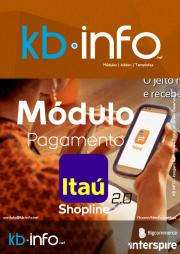 Módulo de Pagamento ItauShopline com Transferência Crediário Cartões Visa Mastercard Diners ou Boleto Bancário